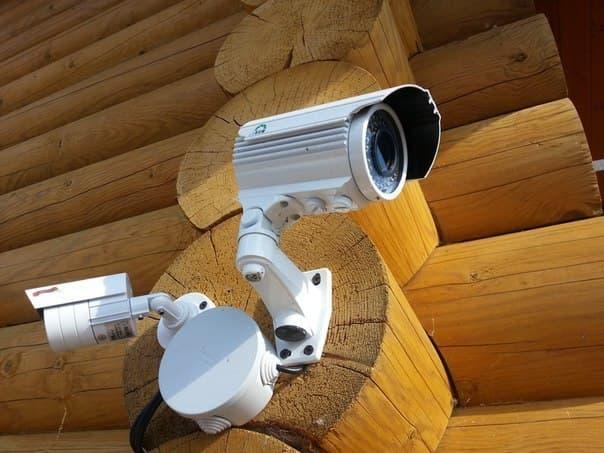 Установка видеонаблюдения в доме 12